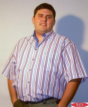 Camisa hombre tallas grandes 13912