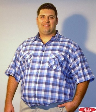 Camisa hombre tallas grandes 13915