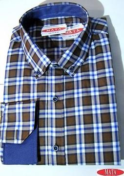 Camisa hombre tallas grandes 16276