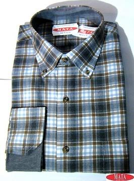Camisa hombre tallas grandes 16280