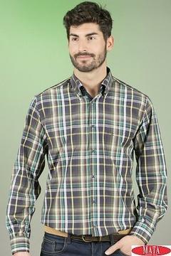 Camisa hombre tallas grandes 16545