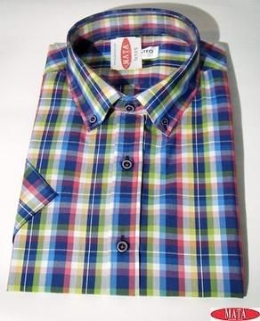 Camisa hombre tallas grandes 17015