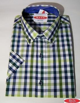 Camisa hombre tallas grandes 17017