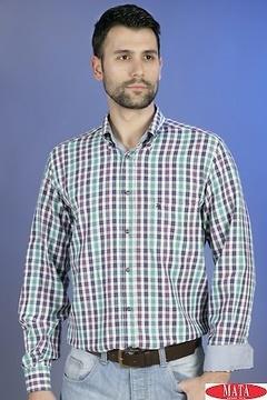 Camisa hombre tallas grandes 17447