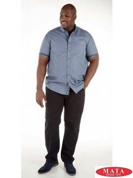 Camisa hombre tallas grandes 18769