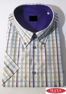 Camisa hombre tallas grandes 18789