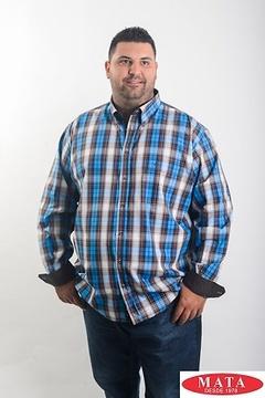 Camisa hombre tallas grandes 19038