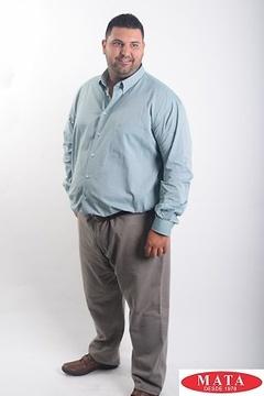 Camisa hombre tallas grandes 19042