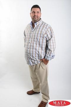 Camisa hombre tallas grandes 19044