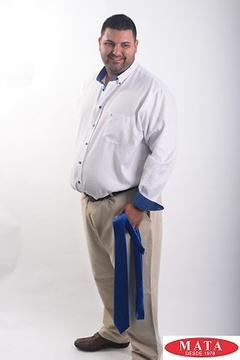 Camisa hombre tallas grandes 19047