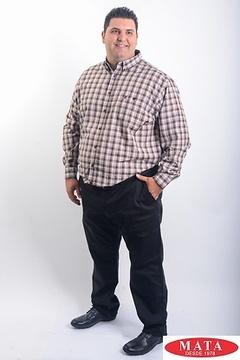 Camisa hombre tallas grandes 19080