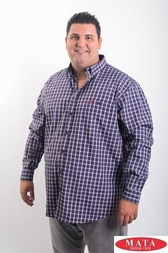 Camisa hombre tallas grandes 19081