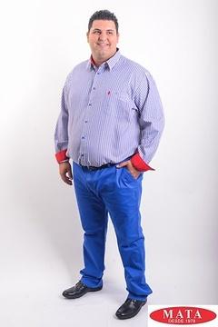 Camisa hombre tallas grandes 19082