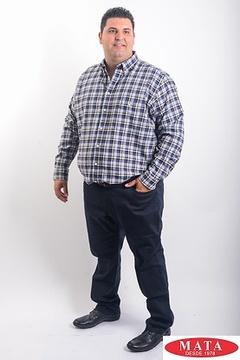 Camisa hombre tallas grandes 19190