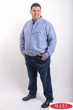 Camisa hombre tallas grandes 19191