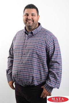 Camisa hombre tallas grandes 19227