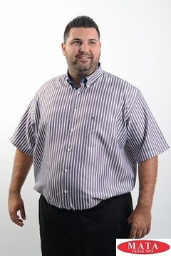 Camisa hombre tallas grandes 19239