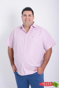 Camisa hombre tallas grandes 20852