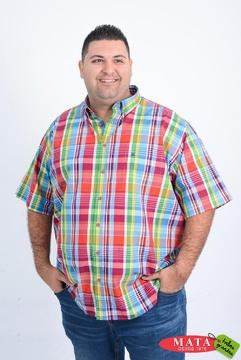 Camisa hombre tallas grandes 20973