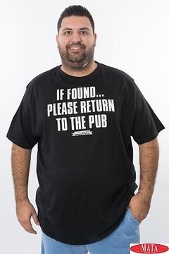 Camiseta hombre 19937