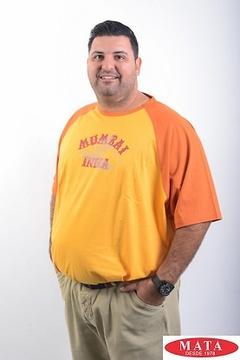 Camiseta hombre cuello redondo 05890