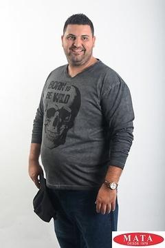 Camiseta hombre tallas grandes 19061