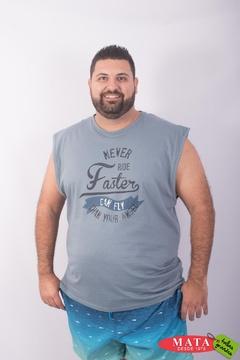 Camiseta hombre tallas grandes 23516