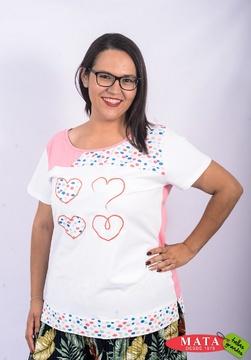Camiseta mujer diversos colores 18936