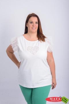 Camiseta mujer diversos colores 20945