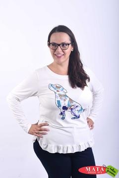 Camiseta mujer diversos colores 21699