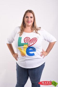Camiseta mujer diversos colores 22253