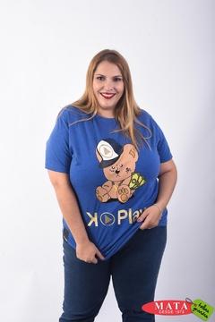 Camiseta mujer diversos colores 22317