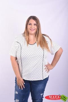 Camiseta mujer diversos colores 22861
