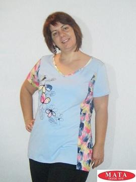 Camiseta mujer tallas grandes 18934