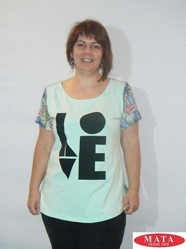 Camiseta mujer tallas grandes 18935