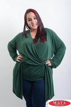 Camiseta mujer tallas grandes 19543