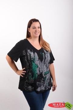 Camiseta mujer tallas grandes 20502