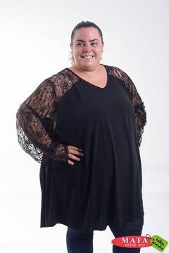 Camiseta mujer tallas grandes 20616