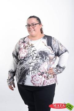 Camiseta mujer tallas grandes 20637