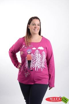 Camiseta mujer tallas grandes 20720