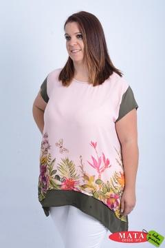 Camiseta mujer tallas grandes 20950