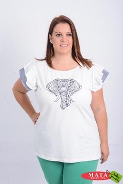 Camiseta mujer tallas grandes 20956