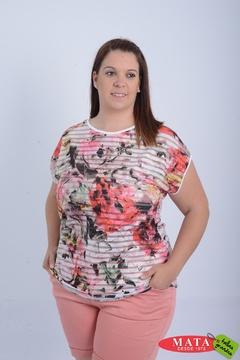 Camiseta mujer tallas grandes 21060