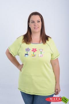 Camiseta mujer tallas grandes 21080