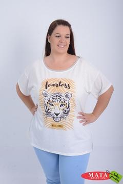 Camiseta mujer tallas grandes 21143