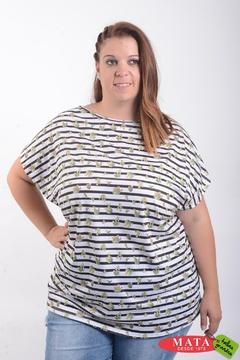 Camiseta mujer tallas grandes 21406
