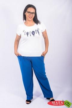Camiseta mujer tallas grandes 22802