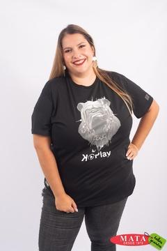 Camiseta mujer tallas grandes 23015