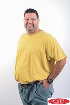 Camiseta tallas grandes hombre varios colores 07408