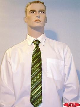 Corbata hombre verde rayas 09626